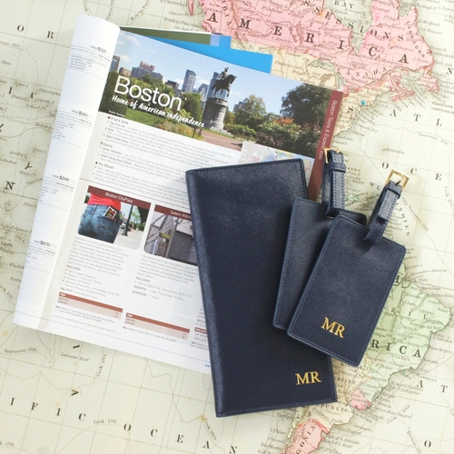 Mr Spector Luggage Tag Navy