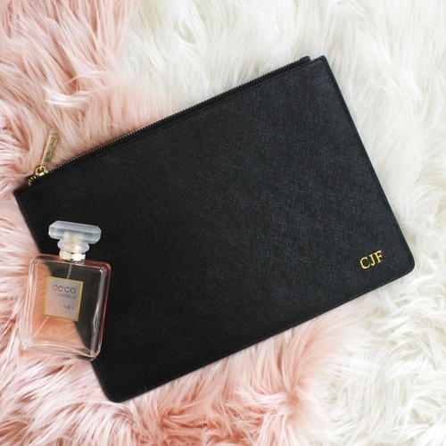 Miss Victoria Clutch Black