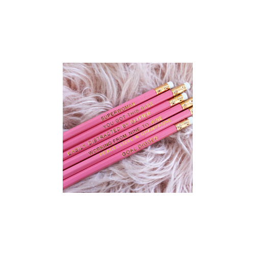 Miss Monogram Inspo Pencils Lolly Pink