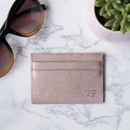 Miss Sophie Cardholder Rose Gold