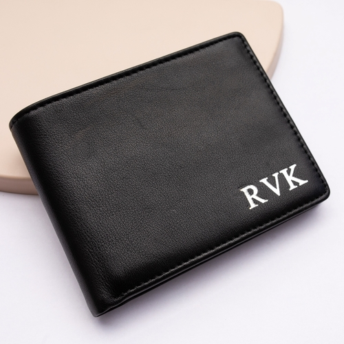 Mr Knox Leather Wallet Black