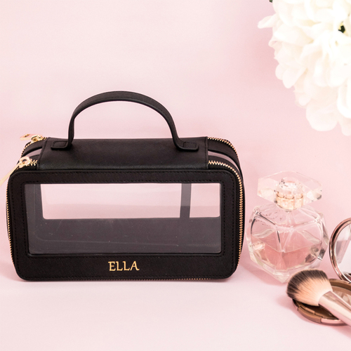 Miss Abbie Cosmetic Case Black