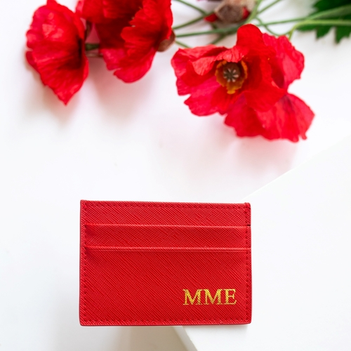 Miss Sophie Cardholder Red