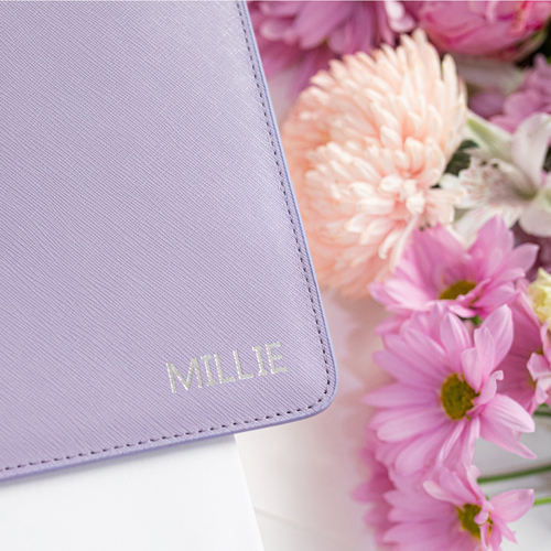 Miss London Pouch Lilac